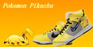 wholesale dealer 03f6d 2fa05 Customize-Dunk-High-Tops-Pokemon-Pikachu 3 副本
